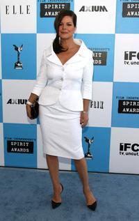 Marcia Gay Harden at the 22nd Annual Film Independent Spirit Awards.
