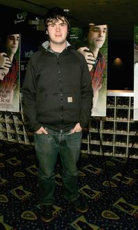 Ryan McDonald at the premiere of