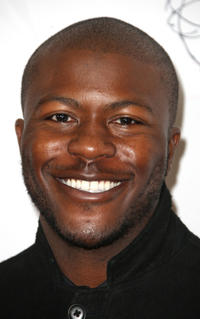 Edwin Hodge at the 33rd Annual College Television Awards in California.