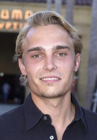 Joey Kern at the premiere of