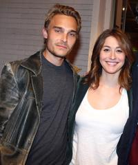 Joey Kern and Kat Foster at the Strike Show to benefit the Motion Picture and Television Fund.