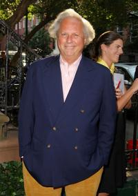 Graydon Carter at the reception for