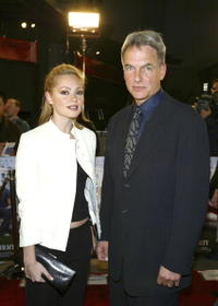 Mark Harmon and Beatrice Rosen at the premiere of