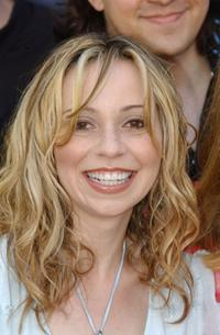 Tara Strong at the world premiere of