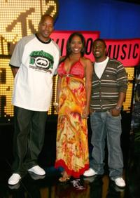 Warren G., Shar Jackson and Kevin Hart at the 2007 MTV Video Music Awards.