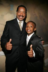 Obba Babatunde and C.J. Sanders at the 9th Annual PRISM Awards.