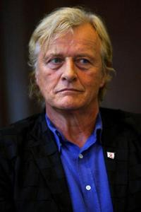 Rutger Hauer at the promotion of International Short Movie Festival