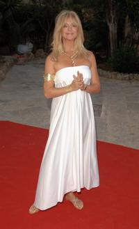 Goldie Hawn at the Playing for Good Gala on September 01, 2007 at Pueblo Espanol in Mallorca, Spain.