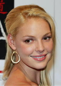 Katherine Heigl at the Tao Nightclub in Las Vegas.