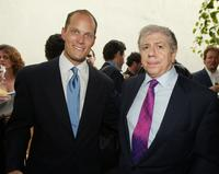 Charles Koones and Carl Bernstein at the Creative Coalitions'