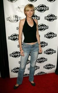 Elaine Hendrix at the premiere of