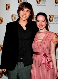 William Moseley and Anna Popplewell at the British Academy Children's Film & Television Awards 2005.