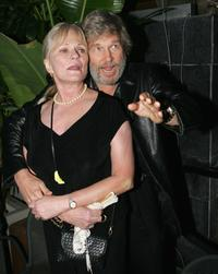 Jeff Bridges and Valerie Perrine at the Bauer Martinez Distribution Launch Party.