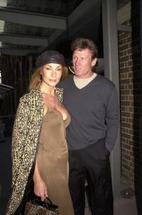 Virginia Hey and Sam Newmanat the launch of Channel 9 2001 Season.