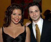 Justina Machado and Freddy Rodriguez at the 18th Annual Imagen Awards.