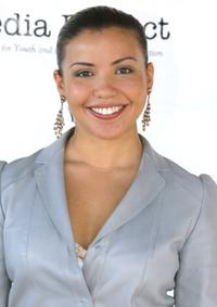 Justina Machado at the Media Project's 2003 SHINE Awards.
