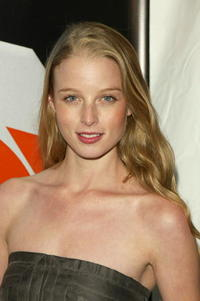 Rachel Nichols at the after party for the Fox primetime program announcements for 2004-2005 in N.Y.