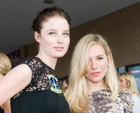 Rachel Nichols and Sienna Miller at the screening of