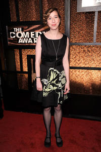 Kristen Schaal at the First Annual Comedy Awards at Hammerstein Ballroom in New York.