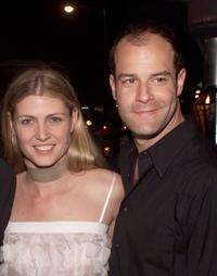 Alison West and Josh Stamberg at the after party of