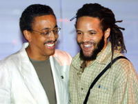Gregory Hines and Savion Glover at the New York City Tap Festival.
