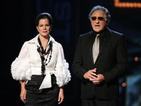 Judd Hirsch and Marcia Gay Harden at the 61st Annual Tony Awards.