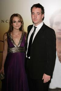 Keira Knightley and Matthew MacFadyen at the UK premiere of