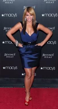 Beyonce Knowles at the launch of