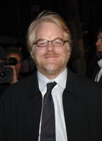 Philip Seymour Hoffman at the N.Y. premiere of