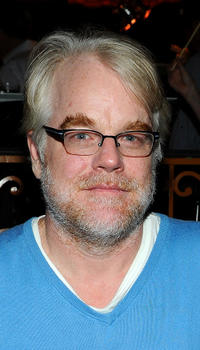 Philip Seymour Hoffman at the California premiere of