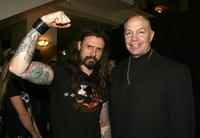 Rob Zombie and Michael Bailey Smith at the fuse Fangoria Chainsaw Awards.