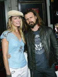 Sheri Moon and Rob Zombie at the premiere of