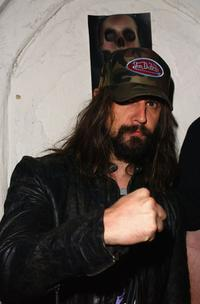 Rob Zombie at the DVD release party of