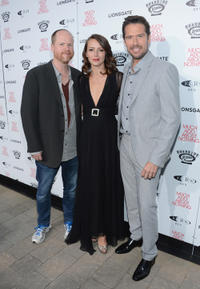 Director Joss Whedon, Amy Acker and Alexis Denisof at the California premiere of