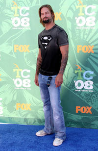 Josh Holloway at the 2008 Teen Choice Awards in California.
