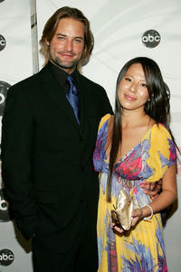 Josh Holloway and Yessica Kumala at the ABC Upfront presentation in New York.