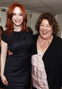 Christina Hendricks and Margo Martindale at the Critic's Choice Television Awards in California.