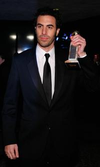 Sacha Baron Cohen at the Golden Globes After Party.