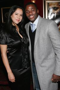 Sophia Luke and Derek Luke at the world premiere of