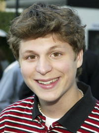 Michael Cera at a cocktail party in L.A. and script reading for
