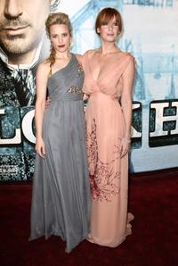 Rachel McAdams and Kelly Reilly at the London premiere of