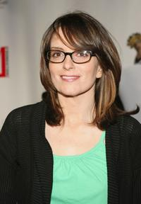 Tina Fey at the Comedy Love Call Benefit.