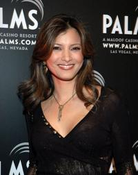 Kelly Hu at the First Annual Fantasy Suite Block Party.