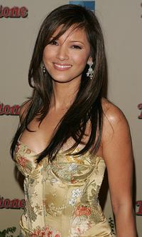 Kelly Hu at the Us Weekly and Rolling Stone Oscar Party.