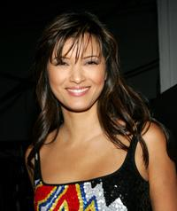 Kelly Hu at the 2004 Spike TV Video Game Awards.