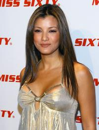 Kelly Hu at the Miss Sixty Fall 2007 fashion show.