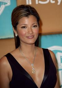 Kelly Hu at the In Style Magazine and Warner Bros. Studios Golden Globe After Party.