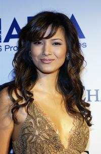Kelly Hu at The Abbey/Esquire Magazine