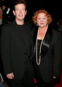 Dylan Baker and wife Becky Ann Baker at the premiere of