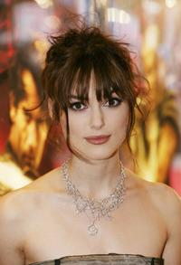 Keira Knightley at the European premiere of
